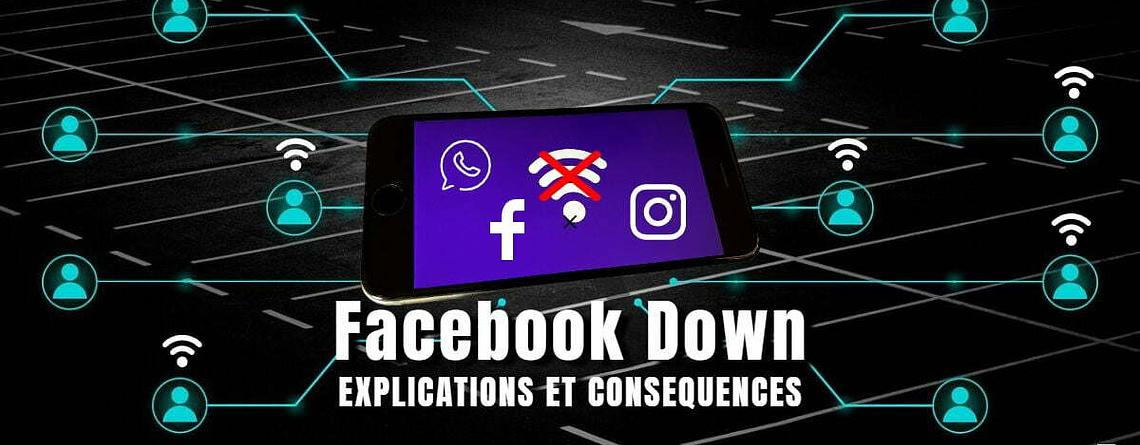 #Facebookdown_ Conséquences Désastreuses de la Panne Facebook et ses Explications
