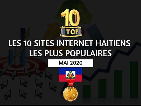 top 10 sites internet haitiens les plus populaires - Mai 2020